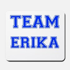 Team Erika Blue Mousepad