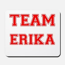 Team Erika Red Mousepad