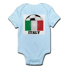 Italy Soccer Infant Creeper