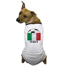 Italy Soccer Dog T-Shirt