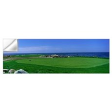 Golf Course Spyglass Hill CA Wall Decal