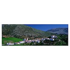Mountain Village near Granada Spain Poster