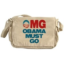 OMG: Obama Must Go Messenger Bag