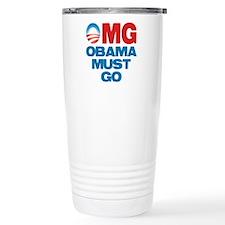 OMG: Obama Must Go Travel Mug