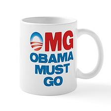 OMG: Obama Must Go Small Mug
