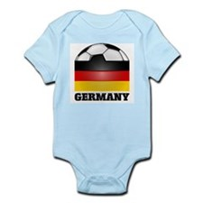 Germany Soccer Infant Creeper
