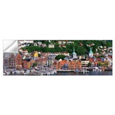 Bergen Norway Wall Decal