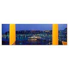 Port de Monaco Monaco Poster