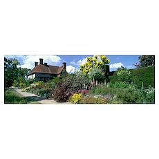 Great Dixter Gardens East Sussex England Poster