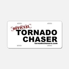Unique Storm chasing Aluminum License Plate