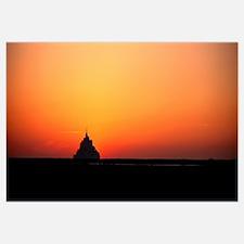 Sunset at Mont Saint Michel Normandy France