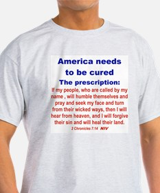 AMERICA NEEDS TO BE CURED... T-Shirt