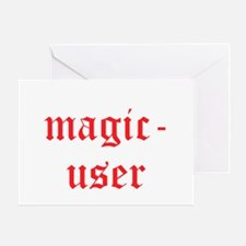 Magic User Greeting Card