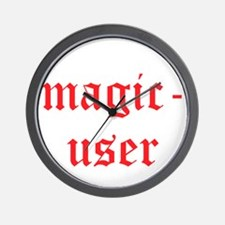 Magic User Wall Clock