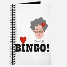 Cute Bingo grandma Journal