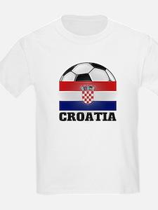Croatia Soccer Kids T-Shirt