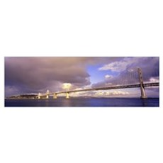 Oakland Bay Bridge San Francisco CA Canvas Art