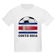 Costa Rica Soccer Kids T-Shirt