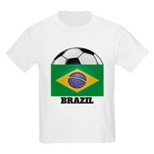 Brazil Soccer Kids T-Shirt
