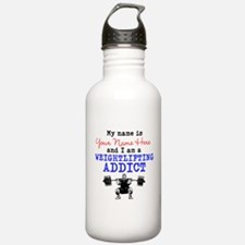 Weightlifting Addict Water Bottle