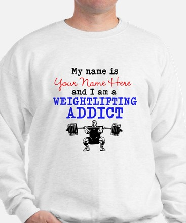 Weightlifting Addict Sweater
