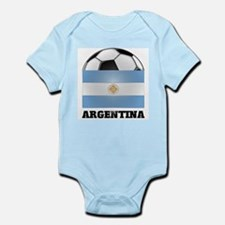 Argentina Soccer Infant Creeper