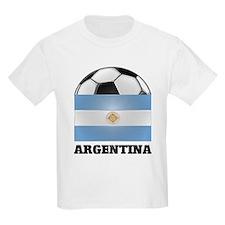 Argentina Soccer Kids T-Shirt