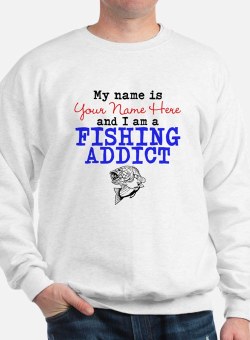 Fishing Addict Sweatshirt