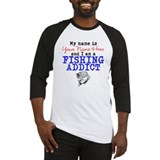 Fishing Baseball Tee