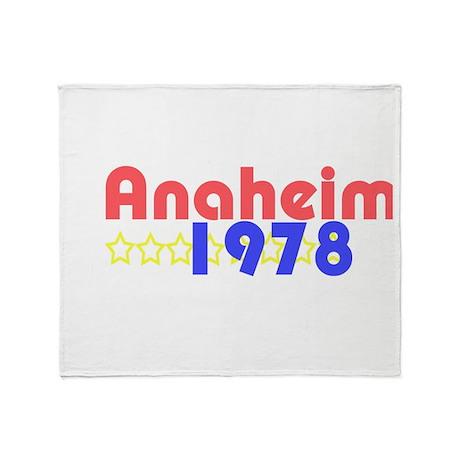 Anaheim Throw Blanket