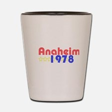 Anaheim Shot Glass