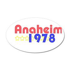 Anaheim 22x14 Oval Wall Peel