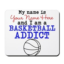 Basketball Addict Mousepad