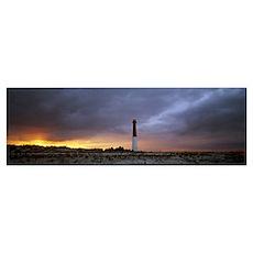 Sunset Barnegat Lighthouse State Park NJ Poster