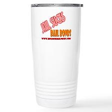 Funny Jail Travel Mug