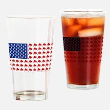 Bull-Flag.png Drinking Glass