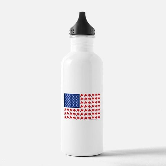 Bull-Flag.png Water Bottle
