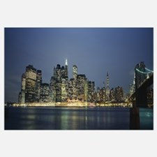 Buildings on the waterfront, New York City, New Yo