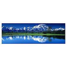 Mt McKinley and Wonder Lake Denali National Park A Poster