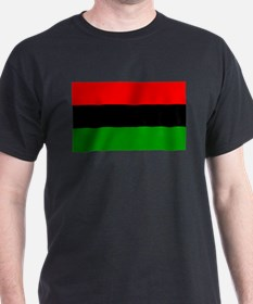 Rasta Gear Marcus Garvey Nationalist Black T-Shirt