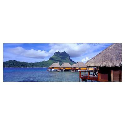 Bora Bora French Polynesia Poster