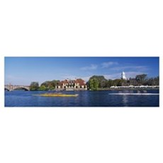 Head of The Charles Regatta Cambridge MA Canvas Art