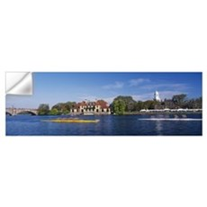 Head of The Charles Regatta Cambridge MA Wall Decal