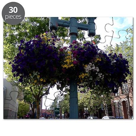 Hanging Flower Baskets Children's Puzzle
