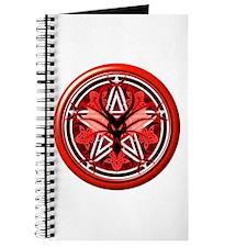 Fire Dragon Pentacle Journal