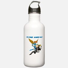 Flying Knee-Na Water Bottle