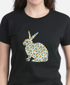 Carrot Calico Rabbit Tee