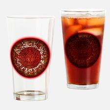 Mayan Calander Sun Drinking Glass