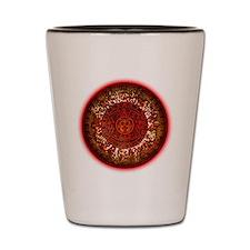 Mayan Calander Sun Shot Glass