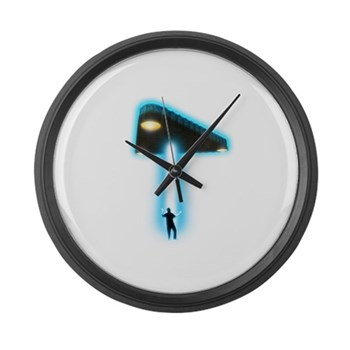 TR-3B Abduction Large Wall Clock | Gifts For A Geek | Geek T-Shirts